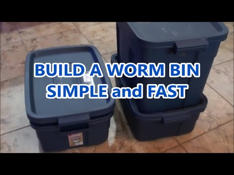How To Make Worm Bin Worm Composting At Home Made Easy