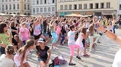 Happy Flashmob in Würzburg