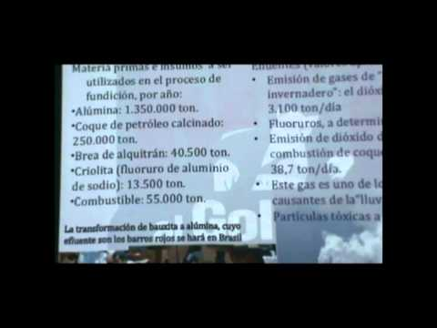 Rio Tinto Alcan en Paraguay - Mercedes Canese