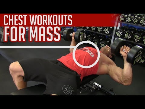 Chest Workouts at the Gym for MASS [Best Tips]