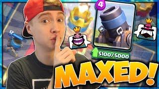 IT'S SO GOOD! 3.1 Mortar Cycle Deck! | My FIRST MAXED OUT CARD! | Clash Royale