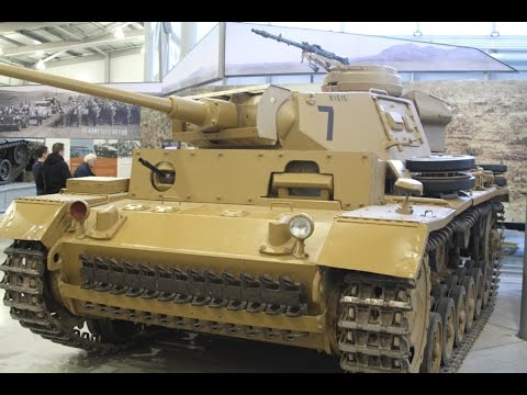 Bovington Tank Museum World War 2 German Panzer III Walk Around