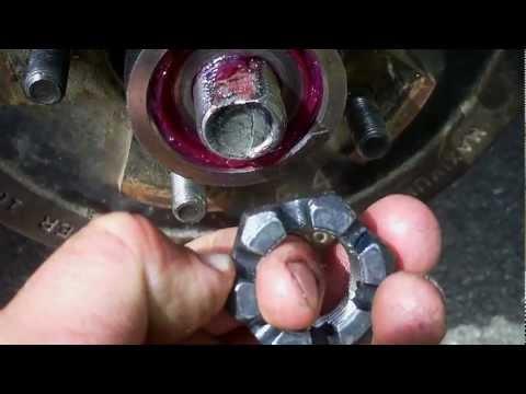 Trailer Axle Bearing Adjustment Trick