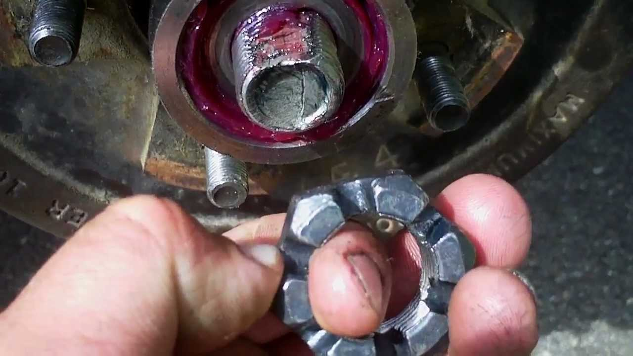 Trailer Axle Bearing Adjustment Trick Youtube Electric Brakes Troubleshooting