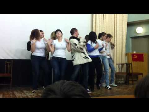 AIESEC dance (roll call) - Superstar by Jump Smokers, Pitbull and QWOTE