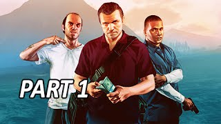 Grand Theft Auto 5 Walkthrough - First Person View Mode (GTAV Next Gen Gameplay)