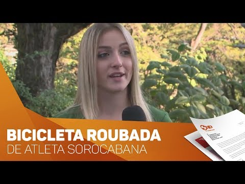 Bike de atleta é roubada em Sorocaba - TV SOROCABA/SBT