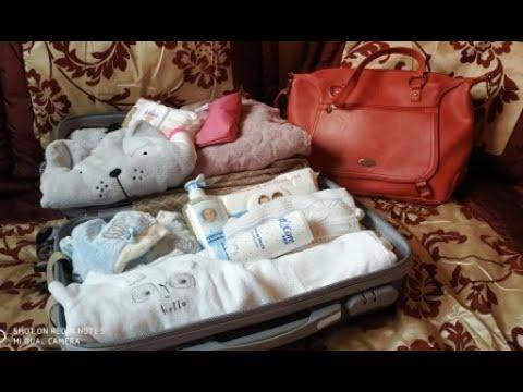 حقيبة-الولادة كل ما يخص الام و المولود  👣🤰la valise De maternité