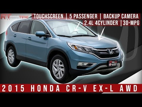 2015 Honda CR-V EX-L AWD | Leather Upholstery | WorldWide Delivery | ridetime.ca