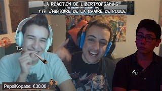 "Réaction de LibertyOfGaming ""[YTP] L"