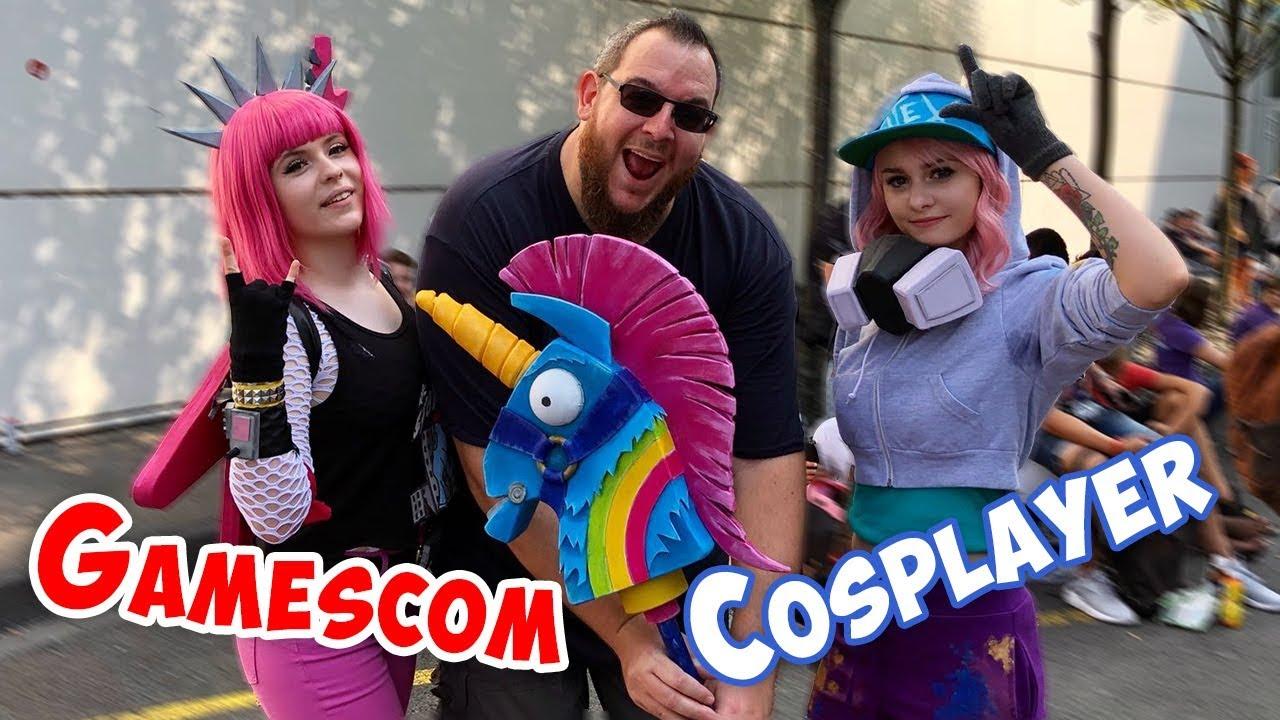 COSPLAY auf der GAMESCOM 2018 | heftige Kostüme & coole Leute