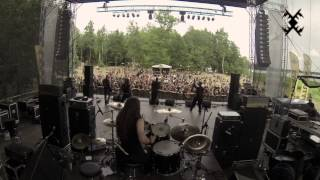 "HORNA - ""Black Metal Sodomy"" Live at Kilkim Žaibu 2013"
