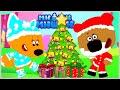 Ми ми мишки в Стране Рисовандии Кеша Санта Клаус Лисичка Снегурочка и Цыпа Эльф