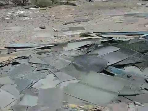 Abandoned underground bus in El Paso/Texas