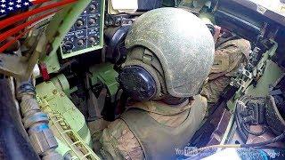 M2ブラッドレー歩兵戦闘車の実弾射撃訓練