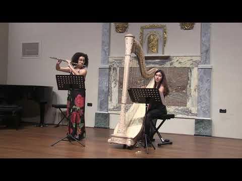 Marc Berthomieu, Cinq Nuances,  Agnese Contadini Harp And Jessica Gabriele Flute
