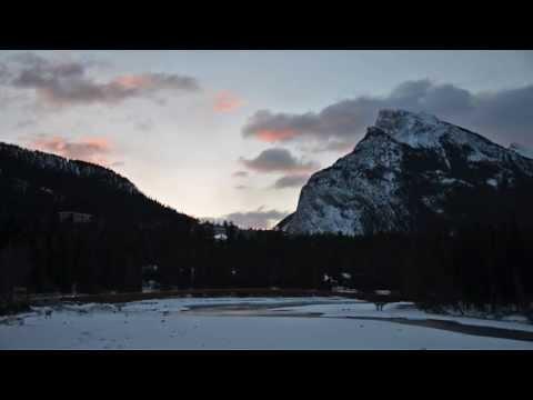 Banff, Alberta, Canadian Rockies, In Winter