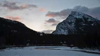 Banff, Alberta, Canadian Rockies, In Winter
