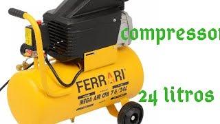 Compressor ferrari 24 litros