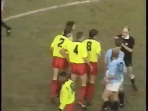 Vinnie Jones fouls  Footballs hardest Player ever Compilation