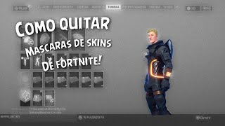How to remove the Helmet/Mask from Fortnite skins!