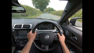 2013 Jaguar XKR Supercharged 5.0 V8 Auto 510bhp - POV Test Drive