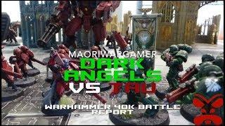 Dark Angels Vs Tau: Warhammer 40K Battle Report - Mission One