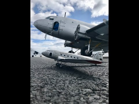 Revell 1/48 DC-3 C-FDTD from Plane Savers part 1