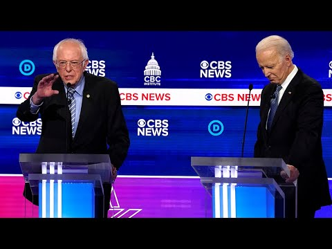 Sanders vs. Biden on the Coronavirus Pandemic