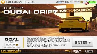 Real Racing 3:- Exclusive Reveal Stage 02 Goal 4 DUBAI DRIFT Porsche Cayman GT4