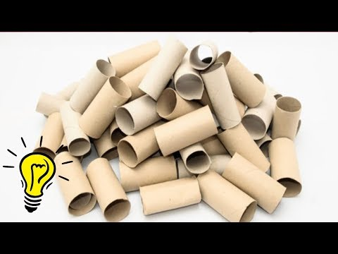 8 TOILET PAPER ROLL CRAFTS || COOL AND EASY TOILET PAPER ROLL DIYS