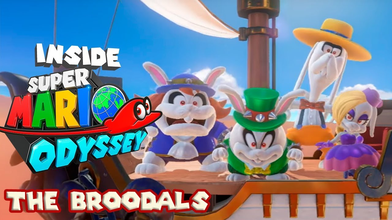 Inside Super Mario Odyssey Broodals And Rabbits Explained Youtube