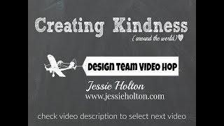 Creating Kindness Blog Hop; Celebrate - Party Pandas - Jessie Holton, Stampin' Up!