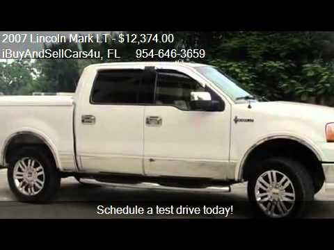 2007 lincoln mark lt 4wd for sale in miami fl 33157. Black Bedroom Furniture Sets. Home Design Ideas