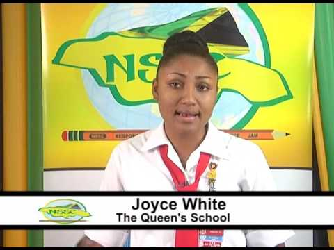 Joyce White - The Queen's School - Reg1: Asst. Vice-Presidential Candidate 2017
