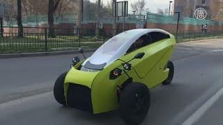 Трёхколёсный электромобиль впервые сделали в Чили (новости)