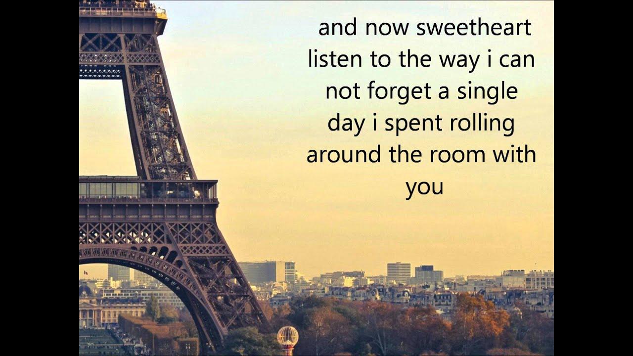 Song lyrics i love paris in the springtime