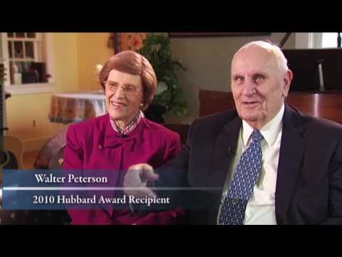 Gov. Walter and Dorothy Peterson: 2010 Hubbard Award Winners