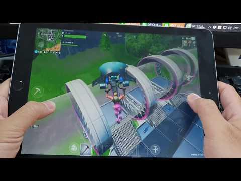 Test Game Fortnite On Apple IPad 2018