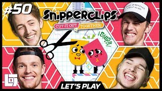 SNIPPERCLIPS met Enzo, Milan, Jeremy en Pascal | Let's Play | LOGS2 #50