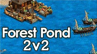Secret vs Aftermath on Forest Pond! 2v2 Final (Game 2)