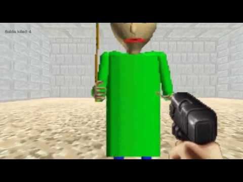 SHOOTING BALDI! Duke's Basics In Kicking Butt And Chewing Gum [Baldi Fangame]