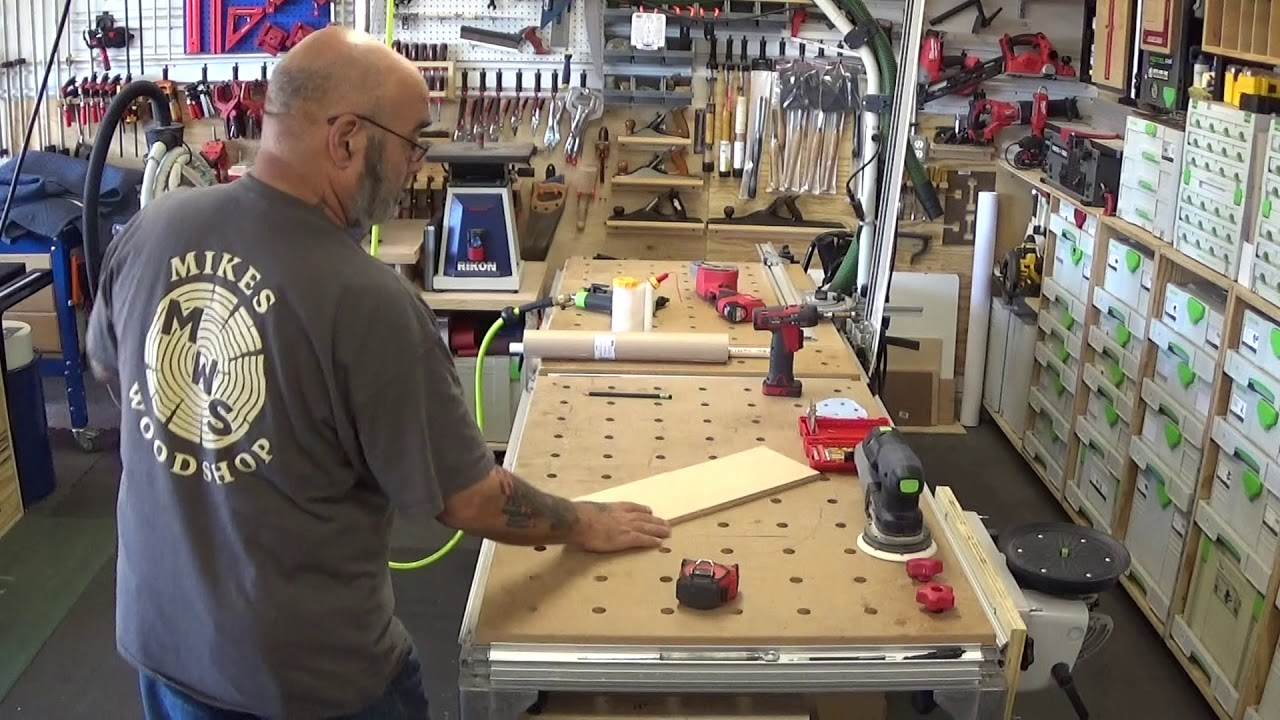 paper roller for your festool mft 3 table youtube rh youtube com