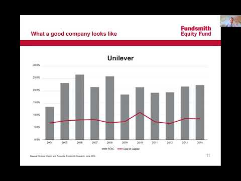 """Investing for growth"" Fundsmith Equity Fund Webinar"