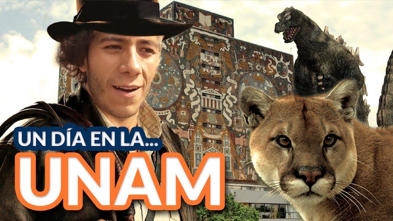Download Un día en la UNAM   ¿Cómo es? ¿Qué hay en CU?