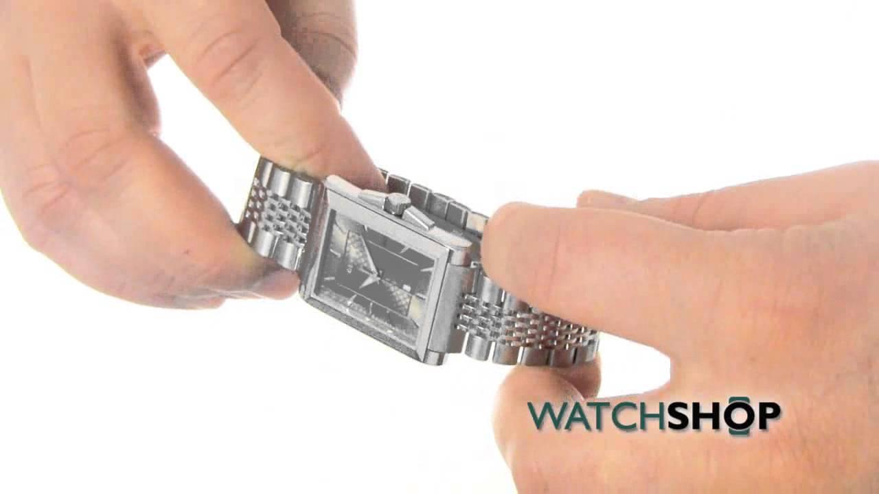 351bb373e66 Gucci Men s G-Timeless Rectangle Watch (YA138402) - YouTube