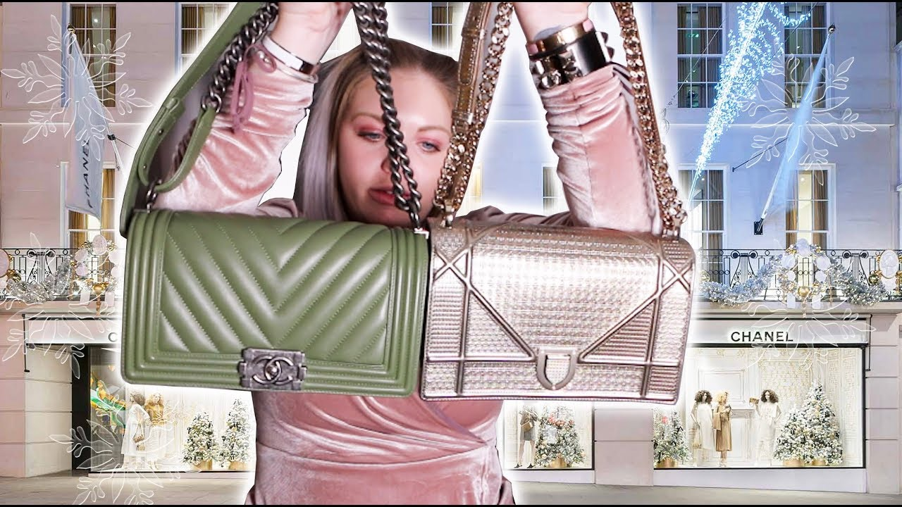 e7380dfe1a53 Chanel Boy Bag vs. Dior Diorama - How To Choose Chanel or Dior -Cost ...