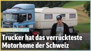 Trucker Roli Schmid lebt in seinem Motorhome | Camperliebe | Folge 3