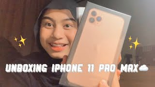 Unboxing iPhone 11 Pro Max!