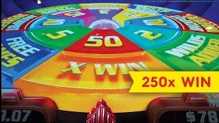 Super Wheel Blast Slot - 250x ALMOST JACKPOT - Hong Kong Fortunes!